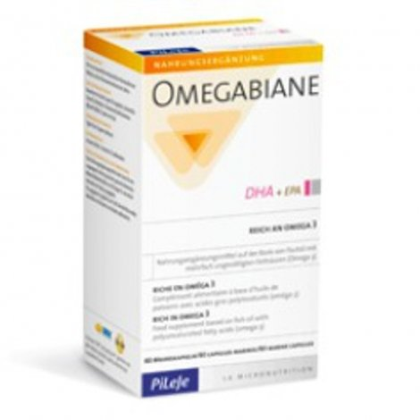 Pileje Omegabiane DHA 80 capsules pas cher, discount