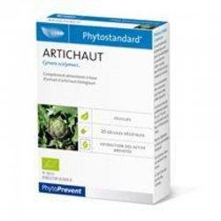 Pileje Phytostandard artichaut 20 gélules