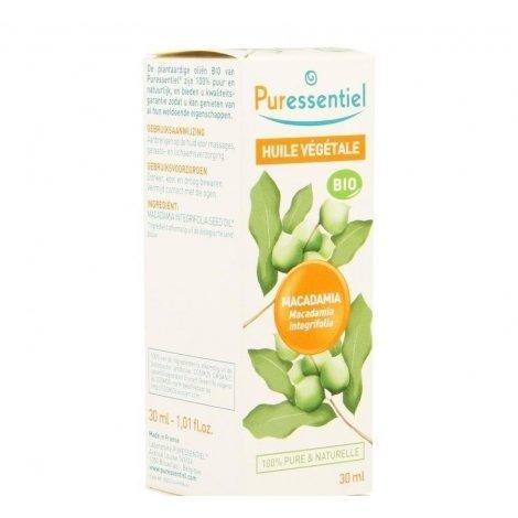 Puressentiel Huile Végétale BIO Macadamia 30ml pas cher, discount