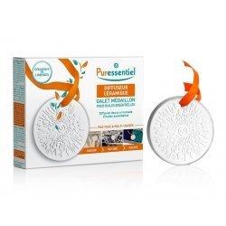 Puressentiel diffuseur ceramique galet medaillon pas cher, discount