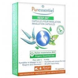 Puressentiel Resp Ok Inhalation 15 capsules pas cher, discount