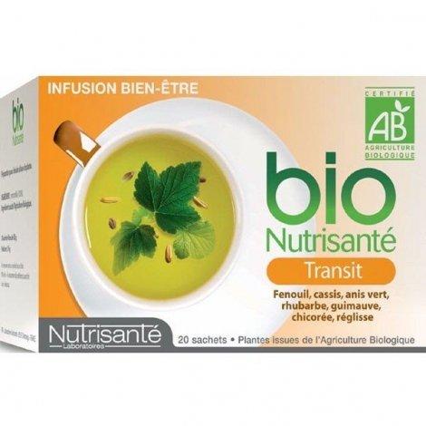 Nutrisante Infusion bio : Transit x20 sachets pas cher, discount