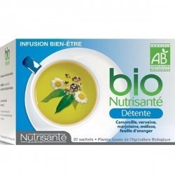 Nutrisante Infusion bio : Détente x20 sachets