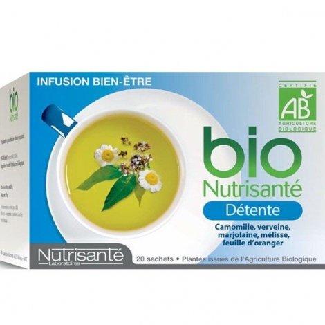 Nutrisante Infusion bio : Détente x20 sachets pas cher, discount