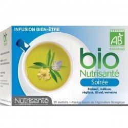 Nutrisante Infusion bio : Soirée x20 sachets