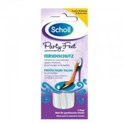 Scholl Party feet protecteurs talons gel invisibles paire 1 pas cher, discount