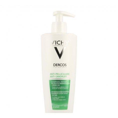 Vichy Dercos shampooing anti pell chev sec 390ml pas cher, discount