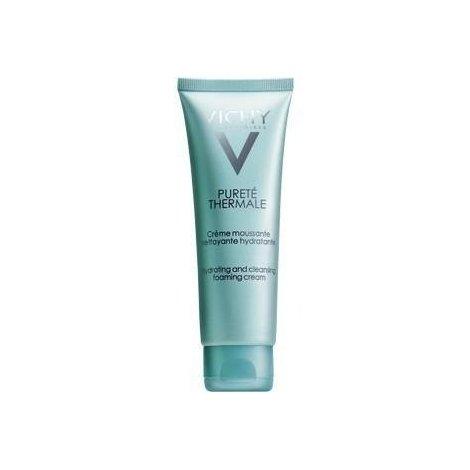Vichy Pureté thermale crème moussante détoxifiante 125ml pas cher, discount