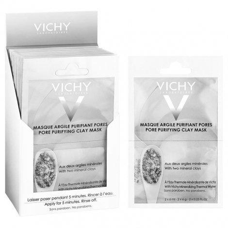 Vichy Masque Pureté Thermale argile pur 12ml pas cher, discount