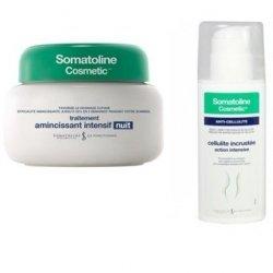 Somatoline Traitement d'attaque Cellulite Incrustée 150ml +  Amincissant 7 nuits 400ml pas cher, discount