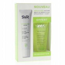 SVR Coffret Sebiaclear Active 40ml + Gel moussant pas cher, discount