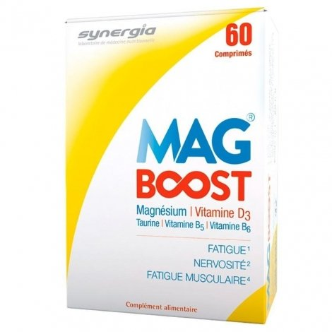 Synergia Mag Boost 60 comp pas cher, discount