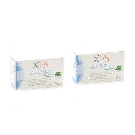 XLS Duopack Cure Thé Amincissant Menthe 2x20 sachets pas cher, discount