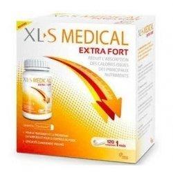 XLS Medical Extra Fort (120 comprimés) + XLS Xanthigen Advanced Calorie Burner 90 capsules pas cher, discount