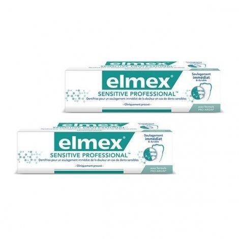 Elmex Duo Pack Sensitive Professional Soulagement Immédiat & Durable 75ml pas cher, discount