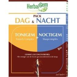 Herbalgem pack jour&nuit noctigem complex   2x15ml pas cher, discount