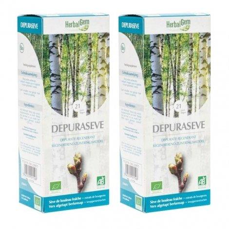 Herbalgem Depuraseve NF Duo Bio 2x250ml pas cher, discount