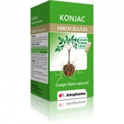 Arkogelules Konjac minceur végétales 45 gélules pas cher, discount