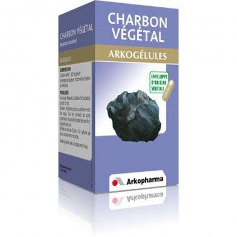 Arkogélules Charbon 45 gélules végétales pas cher, discount