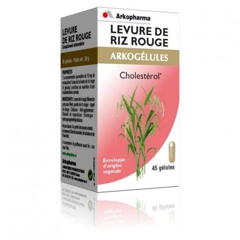 Arkogelules Levure de riz rouge 150 gélules pas cher, discount
