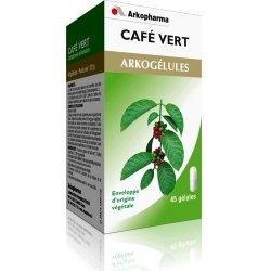 Arkogelules cafe vert 45 caps pas cher, discount