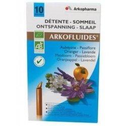 Arkofluide Détente bio sommeil 10 unicadoses