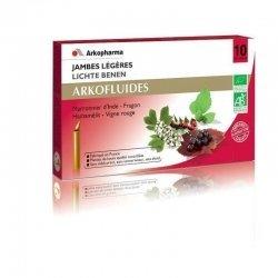 Arkofluides Jambes légères bio unicadose 10