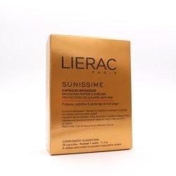 Lierac Sunissime Duo Capsules Bronzage Anti Age 30 capsules pas cher, discount
