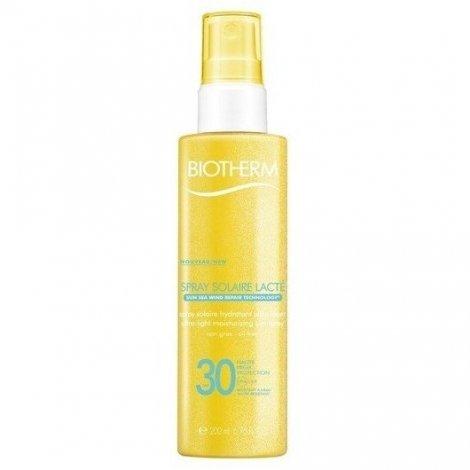 Biotherm Spray Solaire Lacté Hydratant SPF30 200ml pas cher, discount