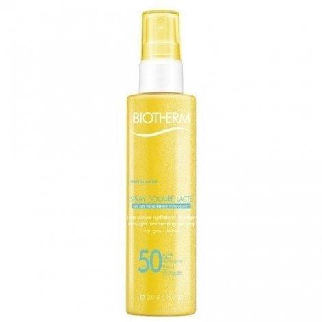 Biotherm Spray Solaire Lacté Hydratant SPF50 200ml pas cher, discount