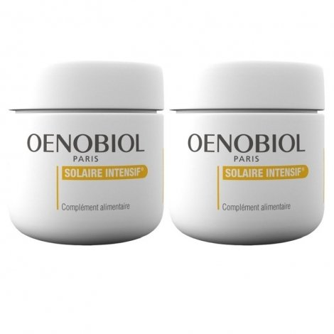 Oenobiol Solaire Intensif Peaux Normales 2x30 capsules pas cher, discount