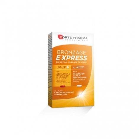 Forte Pharma Bronzage Express Jour Nuit x30 Gélules pas cher, discount