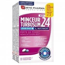 Parapharmacie : Forte Pharma duopack Turboslim Minceur 24 Jour/nuit 45+ Comp 2x28