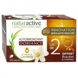 Naturactive Doriance Autobronzant Lot de 2 2x30 capsules + bracelet