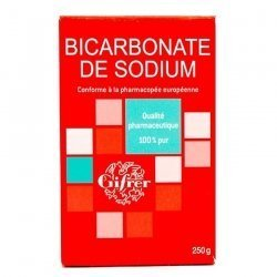 Gifrer Bicarbonate de sodium 100% pur 250g pas cher, discount