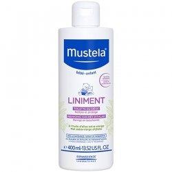 Mustela Liniment Dermo-Protecteur Nettoie, Apaise, Protège dès la Naissance 400 ml