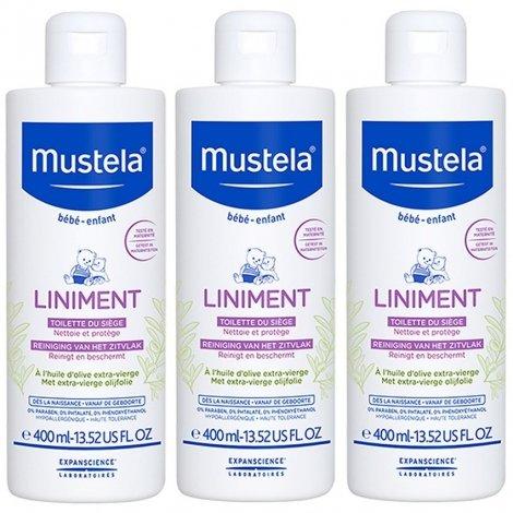 Mustela LOT de 3 Liniment Dermo-Protecteur pas cher, discount