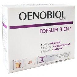 Oenobiol Topslim 3 en 1 (Drainage Amincissement Fatigue) 14 sticks pas cher, discount