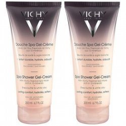 Vichy Ideal Body Douche Spa Gel-Crème 2x200ml pas cher, discount