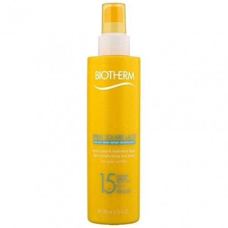 Biotherm Spray Solaire Lacté Hydratant SPF15 200ml pas cher, discount
