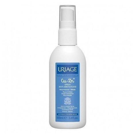 Uriage Bébé 1er Cu-Zn+ Spray Anti-Irritations 100ml pas cher, discount