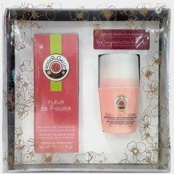 Roger & Gallet Coffret Fleur de Figuier Eau Parfumée 50ml + Déodorant Anti-Transpirant 50ml pas cher, discount