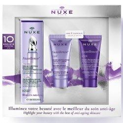 Nuxe Coffret Nuxellence Zone Regard (Contour des yeux + Soins anti-âge détox & éclat OFFERTS) pas cher, discount