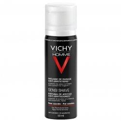 Vichy Homme Mousse de rasage Anti-Irritations 50ml pas cher, discount