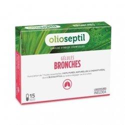 Olioseptil Complexe D'Huiles Essentielles Bronches x15 Gélules pas cher, discount