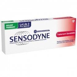 Sensodyne Traitement Sensibilité 75mlx2 pas cher, discount