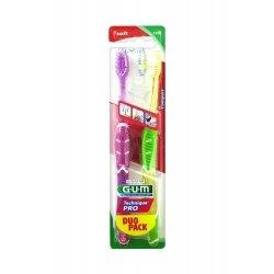 Gum Technique Pro Compact Soft Duo Pack Brosse à Dents 1525 pas cher, discount