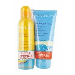 Polysianes Spray Velouté SPF50 150ml + Gelée Après-Soleil 200ml