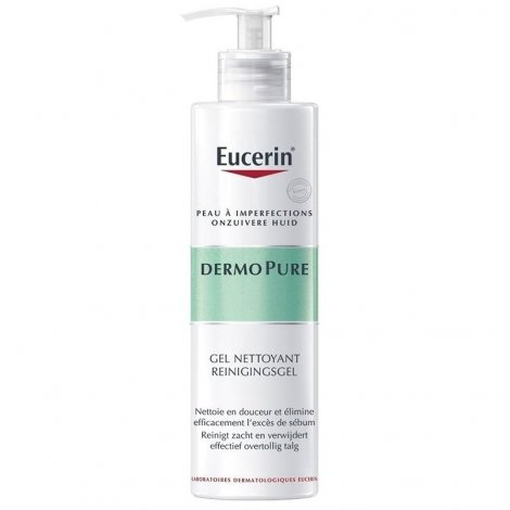 Eucerin DermoPure Gel Nettoyant Visage 400ml pas cher, discount