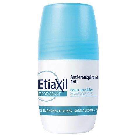 Etiaxil anti-transpirant Déodorant 48H peaux sensibles Roll-on 50ml pas cher, discount